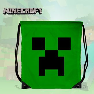 Bolso GYM Minecraft - Creeper