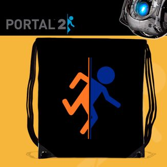 Bolso Gym Portal 2 - Logo