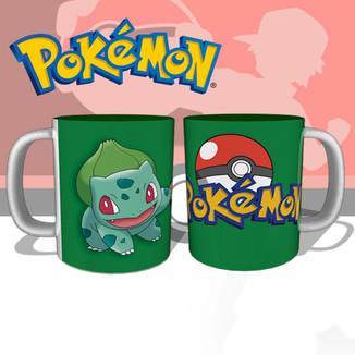 Taza Pokemon - Bulbasur