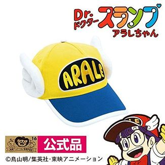 Cap Arale Yellow Dr.Slump