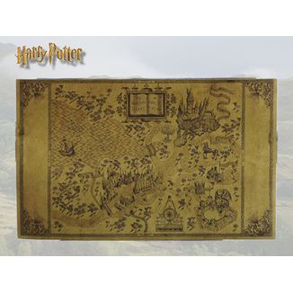 Map Harry Potter - The Wizarding World Map