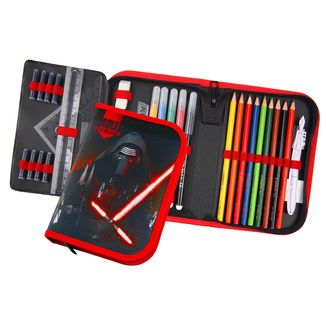 Pencil case Star Wars Episode VII - Kylo Ren - with 30 pieces