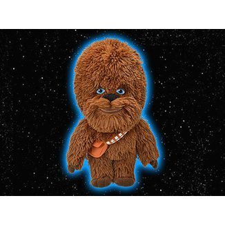 Plush doll Chewbacca (L) Star Wars
