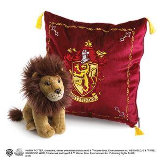 Cojín y Peluche Gryffindor Set Harry Potter