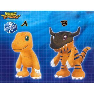 Peluche Agumon Greymon Digimon