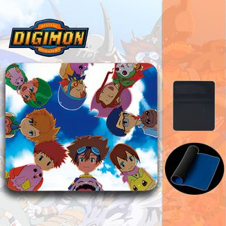 Alfombrilla Digimon - Team