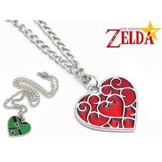 Necklace The Legend of Zelda - Reversible Hearth