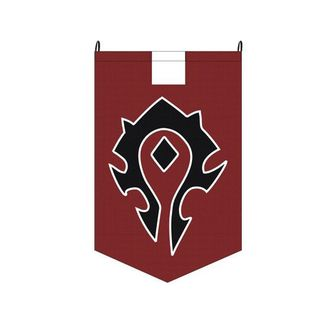 Bandera World of Warcraft - Horda