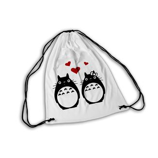 Mochila GYM Ghibli Totoro Couple in love