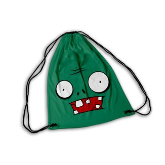 Mochila GYM Plant vs Zombies Face