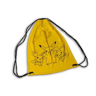 Pokemon GYM Bag Pikachu and co
