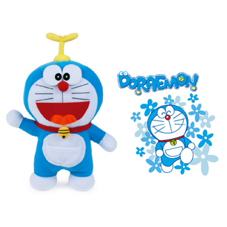 Plush Doll Doraemon Barret Copter Doraemon