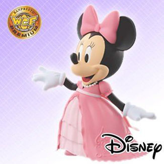 Figura Disney - Minnie Mouse Wedding Pink ver