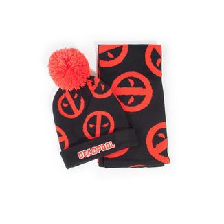 Pack Bufanda y Gorro Deadpool Marvel