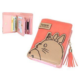 Totoro in Pink Wallet My Neighbor Totoro