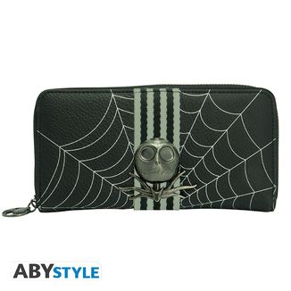 Nightmare Before Christmas Zip Purse Jack