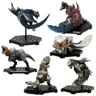 Figura Aleatoria Monster Hunter Capcom Figure Builder Standard Model Plus Vol. 15
