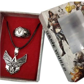 Set Colgante y Anillo Assassins Creed - Angel