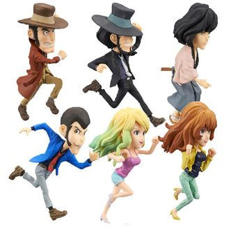 Figure Set Lupin The 3rd - WCF