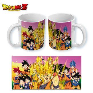 Mug Dragon Ball Z - Gokus