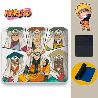 Mouse Pad Naruto - Kages