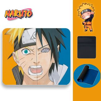 Mouse Pad Naruto - Naruto vs Sasuke Faces