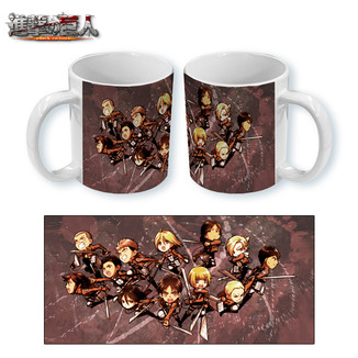 Mug Attack on Titan - Chibi Attack