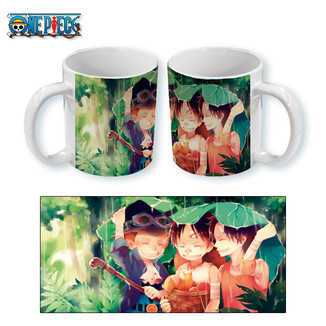 Taza One Piece - Brothers