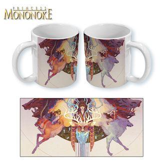 Taza Mononoke Hime - Art