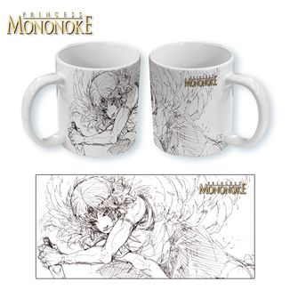 Taza La Princesa Mononoke - Sketch