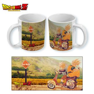Taza Dragon Ball Z - Bike