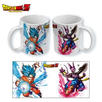 Taza Dragon Ball Z - Goku Bills Paint