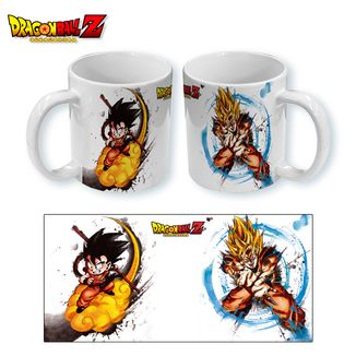 Taza Dragon Ball Z - Gokus Paint