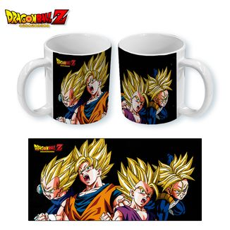 Taza Dragon Ball Z - Saiyans
