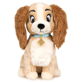 Plush Toy Dama The Lady and the Tramp Disney 30cm