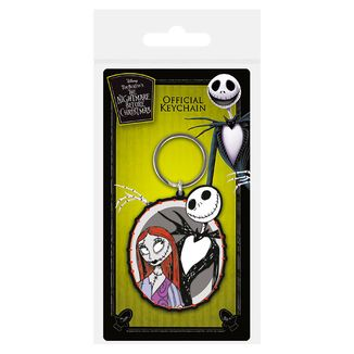 Jack & Sally Keychain Nightmare Before Christmas