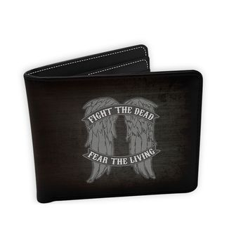 Fight The Dead Fear The Living Wallet The Walking Dead