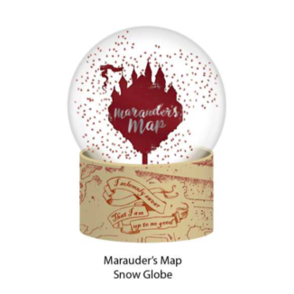 Bola de Nieve Mapa del Merodeador Harry Potter