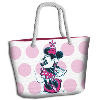 Bolso de Playa Minnie Mouse Pink Disney