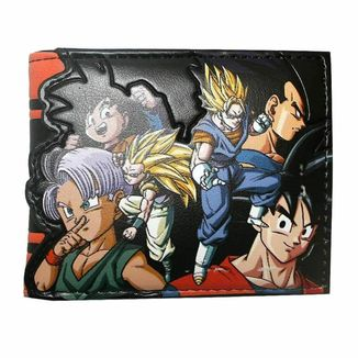 Cartera Bifold Saiyans Dragon Ball Z