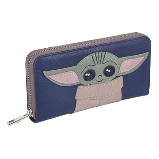 The Child Baby Yoda Star Wars The Mandalorian Wallet Card Holder
