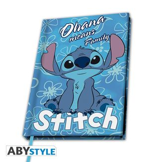 Premium Stitch Lilo & Stitch Notebook Disney A5