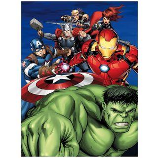 Manta Polar Heroes Marvel Comics 70 x 140 cms