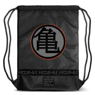 Mochila GYM Kame Kanji Negro Dragon Ball Z