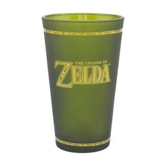 The Legend of Zelda Glass Hyrule Shield 450ml