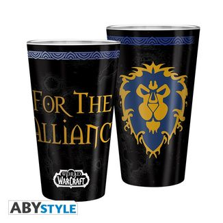 Vaso Grande Alianza World of Warcraft WoW 400ml