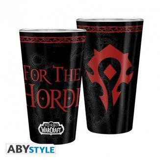 Horde World of Warcraft WoW 400ml Large Glass