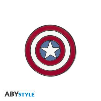 Pin Escudo Capitan America Marvel