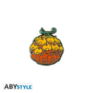 Devil Fruit Mera Mera Pin One Piece