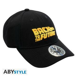 Back To The Future Logo Baseball Cap